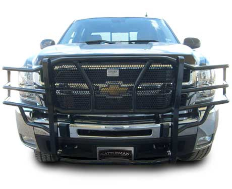 Cattleman Chevy 2500HD/3500 Grille Guard | Dandy Products